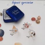 Bague Zyrconium en argent massif (planche n°2)