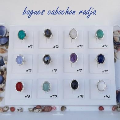 Bagues cabochon Radja - Pierre Naturelle