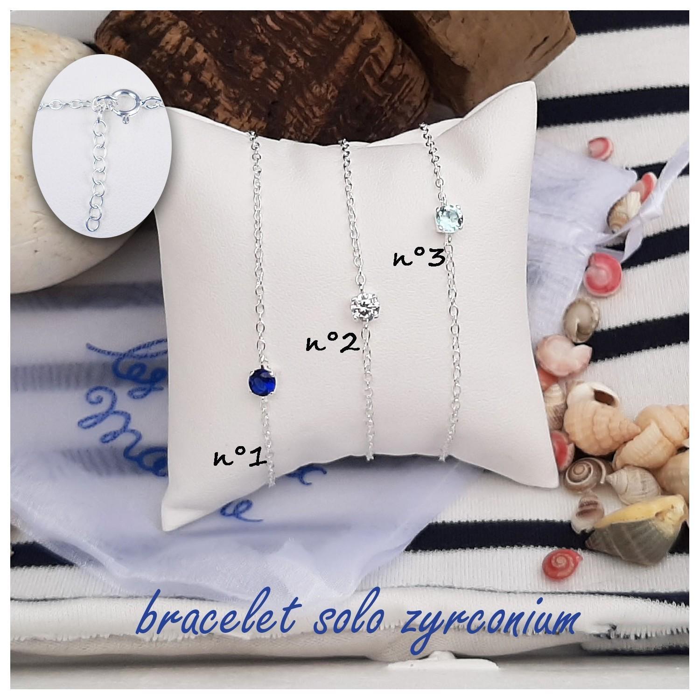 Bracelet solo zyrconium