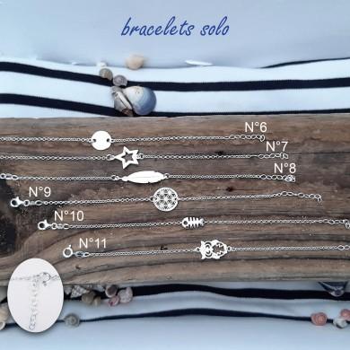 Bracelet solo en argent massif (planche n°2)