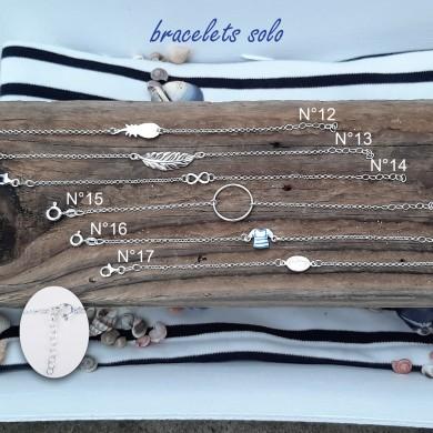 Bracelet solo en argent massif (planche n°3)