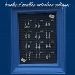 Boucle d'Oreille Pendante Bretonne - N°1 - BOC001