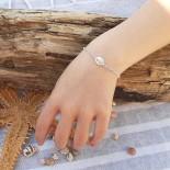 Bracelet Cauri en argent massif pour les enfants