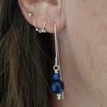Boucle d'oreille en pierre - BOP012