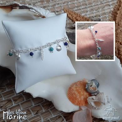 Bracelet Silver Shell