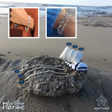Bracelet maille chic