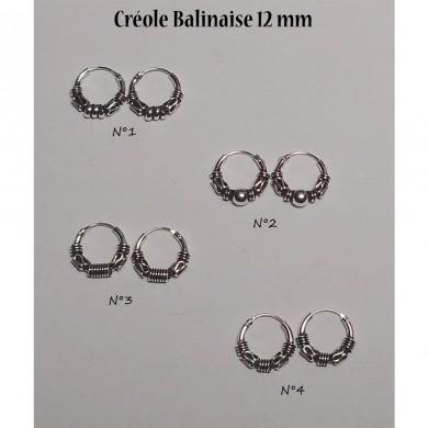 Créole Balinaise 12 mm
