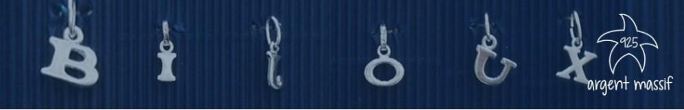 Pendentifs  argent massif - Les Bijoux Marine